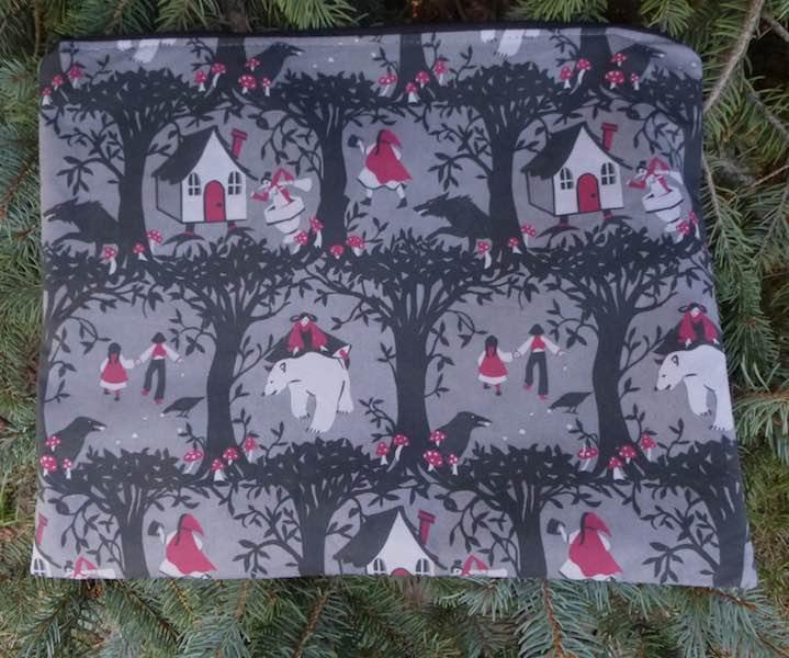 Fairytale portfolio for documents knitting patterns lingerie travel bag