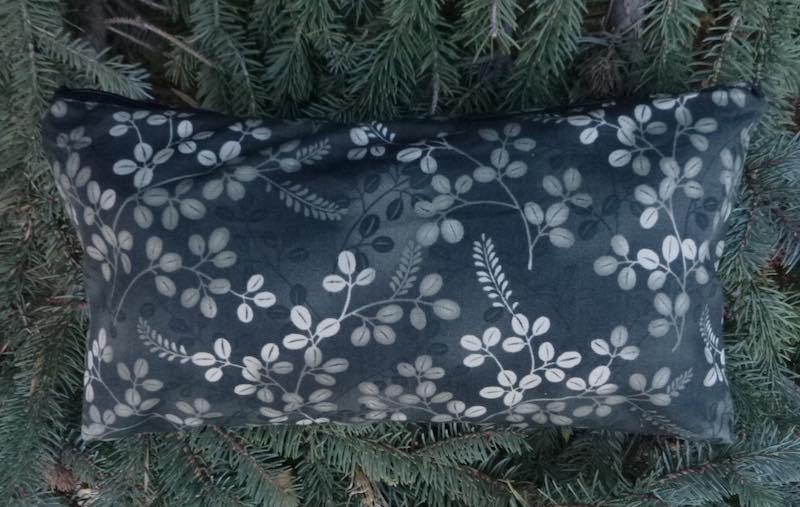 black leaves flat bottom bag for mahjong tiles