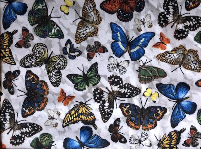 Butterflies adjustable face mask Zoe's Bag Boutique