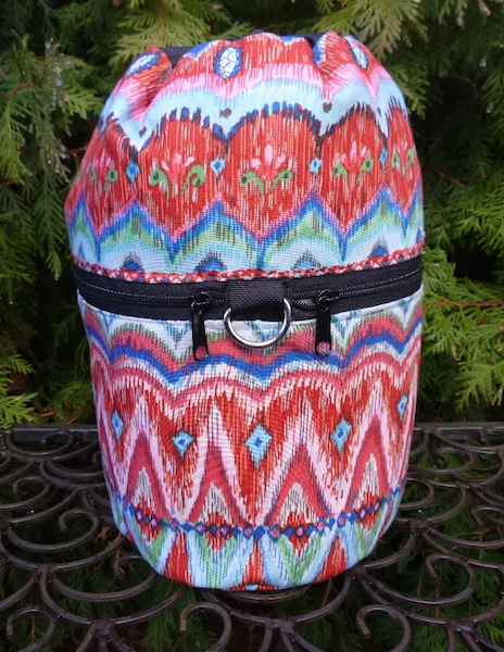 boho knitting bag