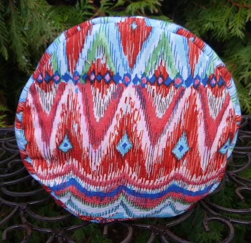 Pretty knitting wip bag