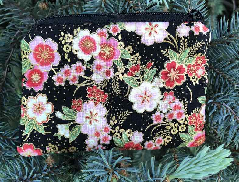 Japanese Cherry Blossoms coin purse