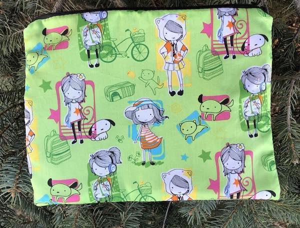 City girls large pencil case