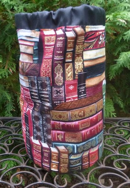 classic books drawstring bag