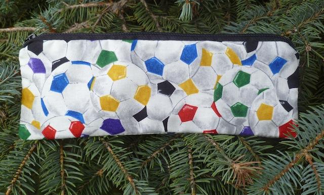 soccer ball pencil case