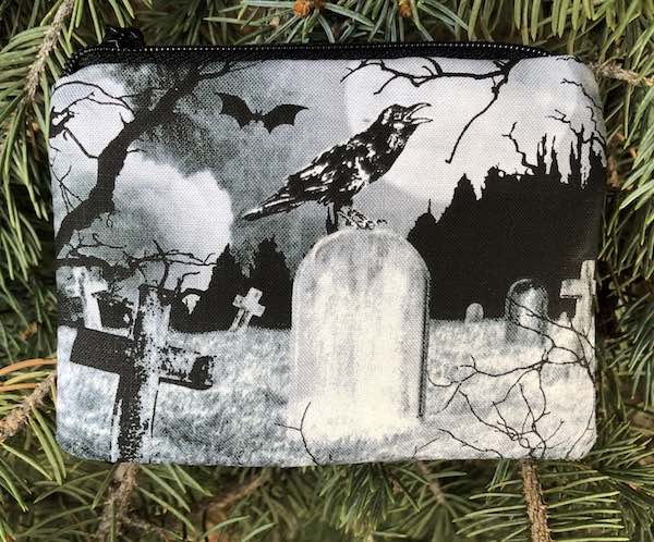 crow's graveyard coin purse
