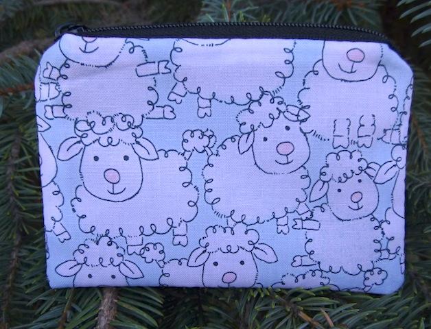 cute sheep coin purse