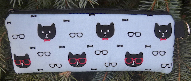 cats in glasses padded case for glasses