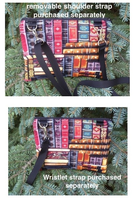 kindle ereader case with removable shoulder strap