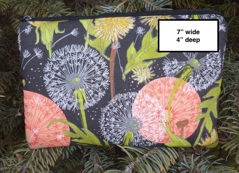 padded case with pockets for essential oils