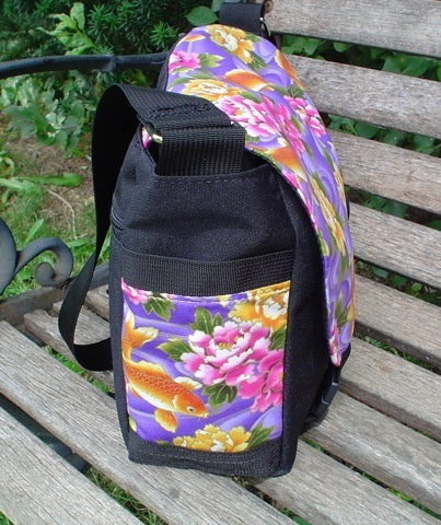 messenger bag with side pockets
