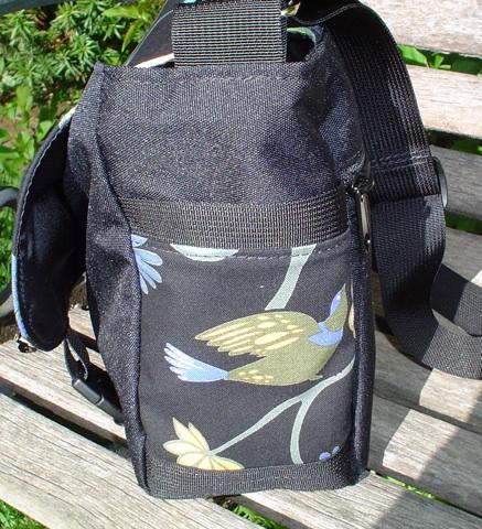 messenger bag with iPhone pocket