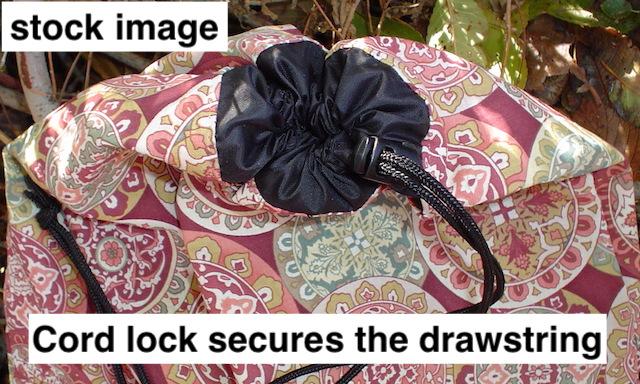 drawstring shoe bag, drawstring lingerie travel bag
