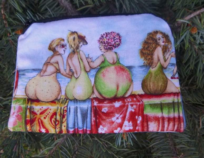Fruit women coin purse