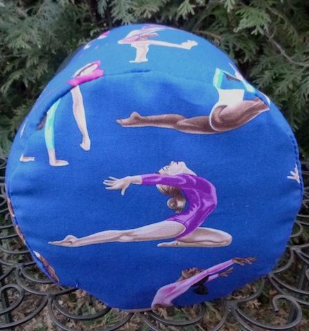 gymnastics drawstring grip bag