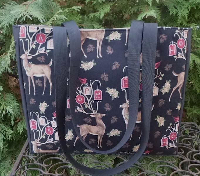 Hope and Peace tote for Christmas