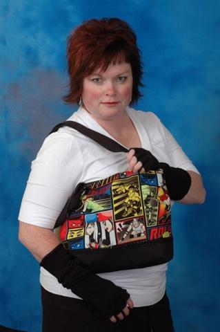 medium size custom made purse