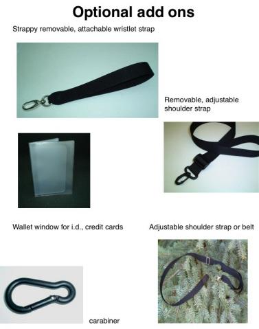 knitting bag with shoulder strap