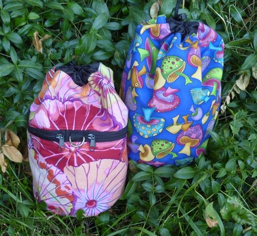 custom made knitting bags