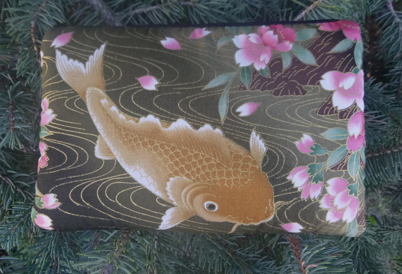 Koi padded case for essential oils