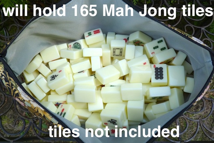 fbag for storing mahjong tiles