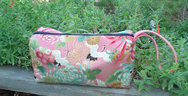 boxy knitting bag