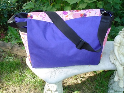 messenger bag with adjustable shoulder strap