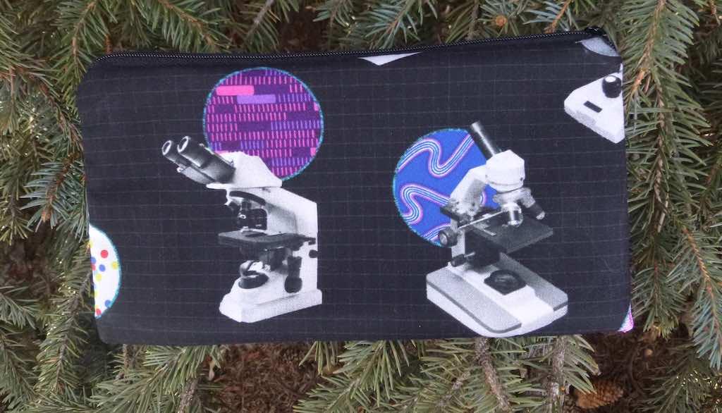 microscopes scientist gift pencil case