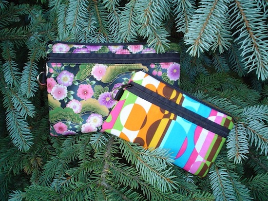 custom made boutique mini wallets and clutches