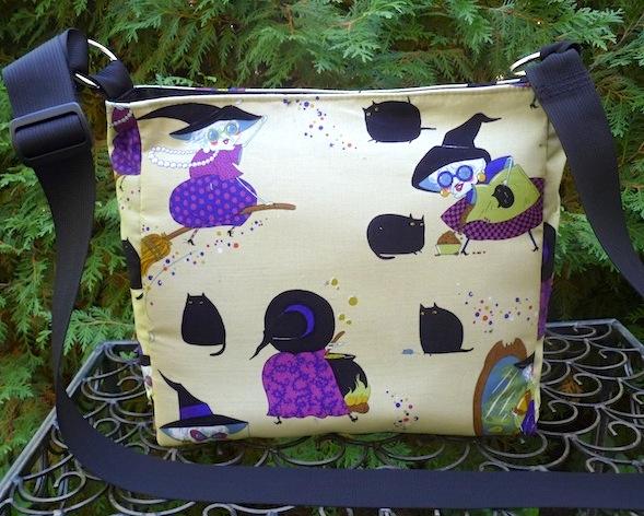 witch cross body purse Mona makes magic