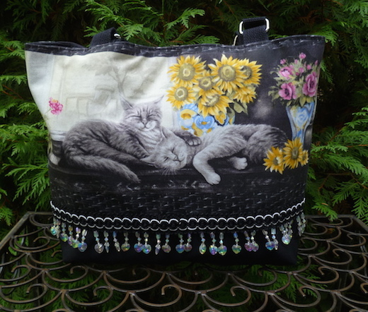 large purse with pockets