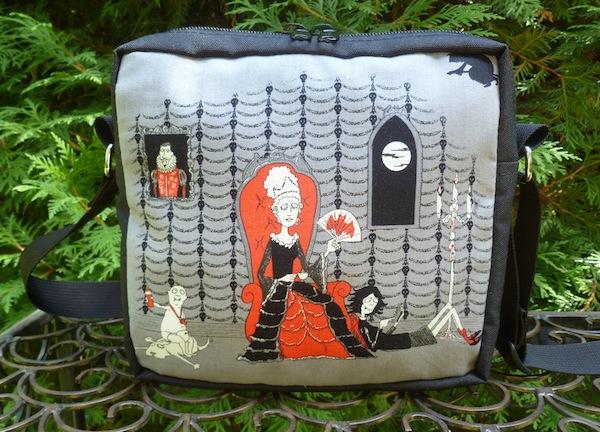 Oddity family Halloween shoulder bag cross body bag