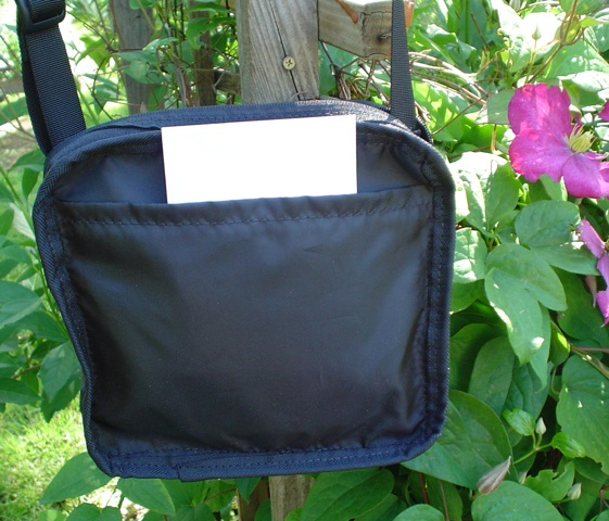 Hipster bag with inside pockets