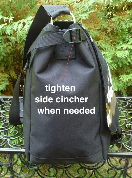 large boutique style messenger bag