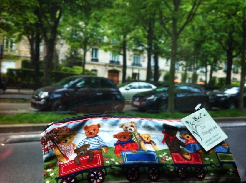 Pencil case in Paris