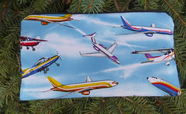 planes pencil case