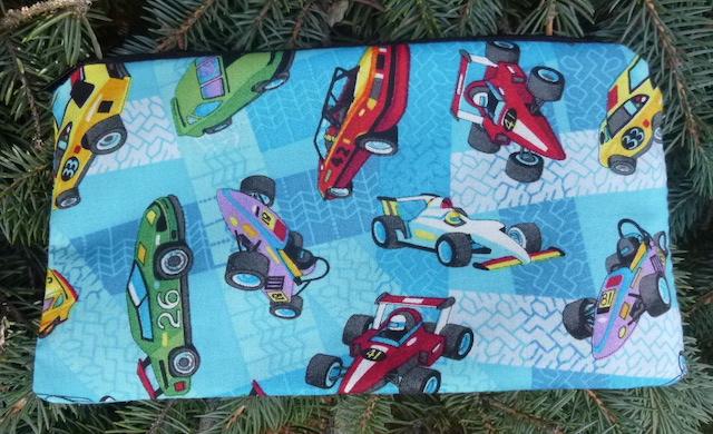 Race cars pencil case