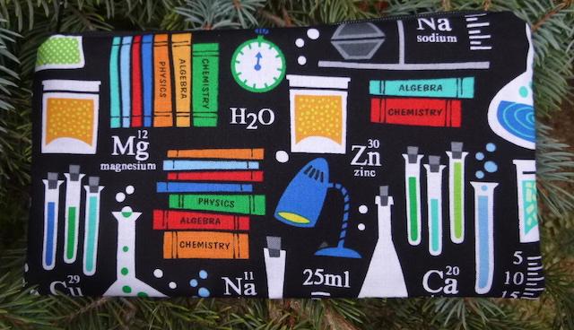 Science lab pencil case