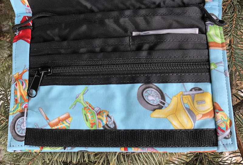 scooters wallet on string