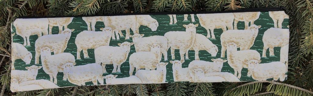 sheep zippered case for 14