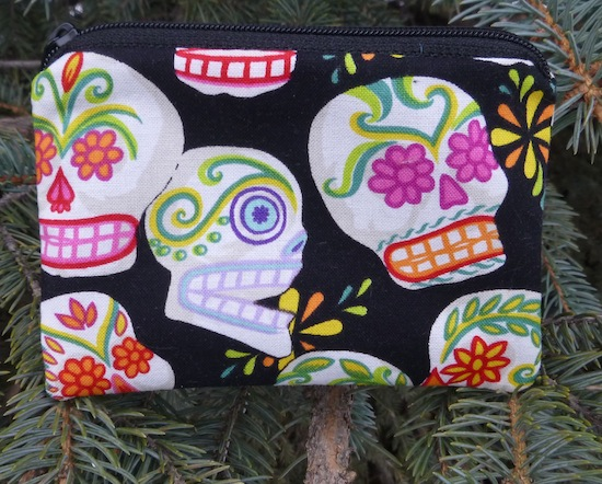 Sugar Skulls coin purse