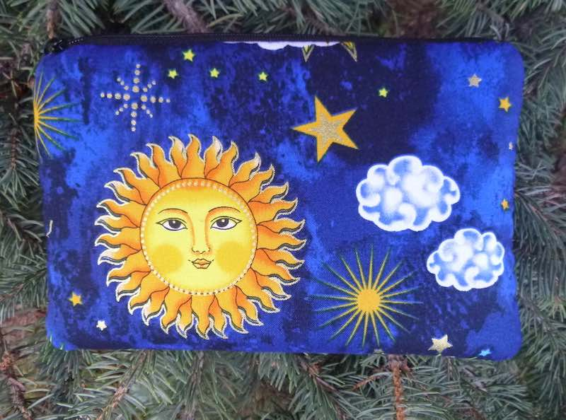 Suns padded case for essential oils