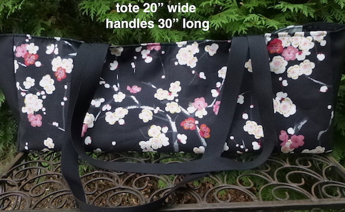 Tote for mahjongg racks