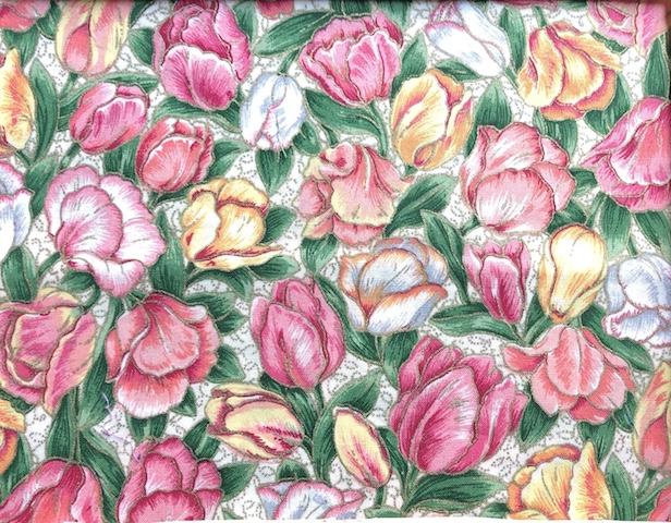 tulips face mask Zoe's Bag Boutique