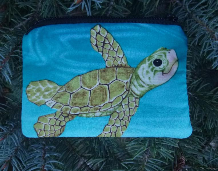 turtles coin purse