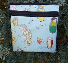 owls iphone purse