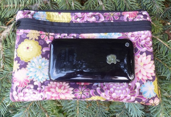 small iphone purse