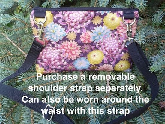 mini shoulder purse for iphone smart phone