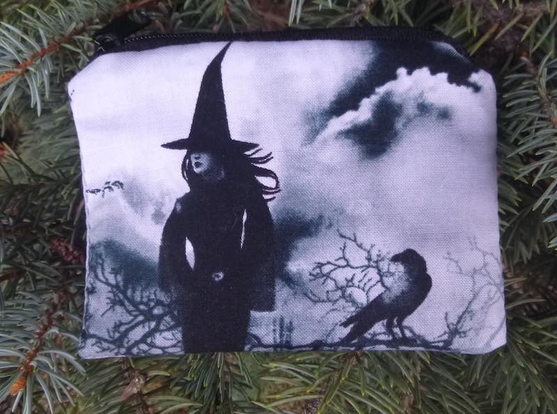 witches coin purse