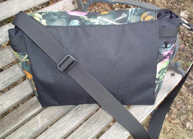 messenger bag with adjustable shoulder strap